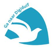 Om in te loggen bij Digiduif (ons communicatiesysteem met ouders)